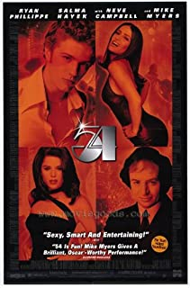 54 Movie Poster (27 x 40 Inches - 69cm x 102cm) (1998) Style B -(Mike Myers)(Ryan Phillippe)(Breckin Meyer)(Salma Hayek)(Neve Campbell)(Sela Ward)