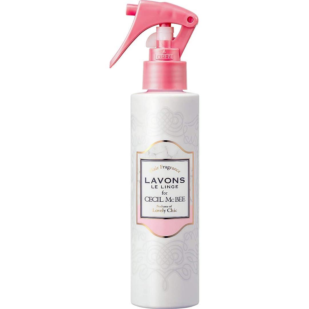 日付付きランプメンバーラボン for CECIL McBEE ヘアフレグランスミスト ラブリーシックの香り?150ml