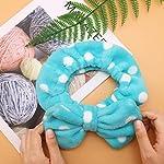 Beauty Shopping Shintop Sweet Super Soft Caroset Polka Dots Wash Cosmetic Headband Hairlace (Dark