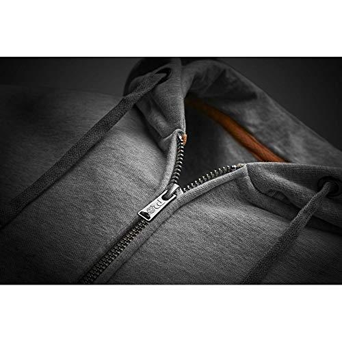 Timberland Pro Mens Hood Honcho Sport Zip Up Hoodie Grey Marl