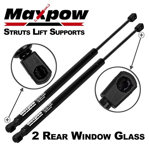 Price comparison product image Maxpow 2Pcs Gas Charged Rear Glass Window Lift Support Compatible With Suburban 2000 2001 2002 2003 2004 2005 2006 / Escalade 2000-2006 / GMC Yukon 1999-2006 4185 SG330025