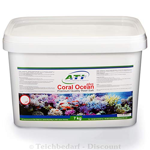 ATI Coral Ocean plus 7kg - Premium Reef Salt wurde speziell für die Ansprüche der modernen Meerwasseraquaristik entwickelt