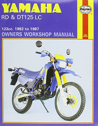 Yamaha RD & DT125LC (82 - 87) Haynes Repair Manual (Haynes Powersport)