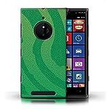 Phone Case for Nokia Lumia 830 Reptile Skin Effect Pit