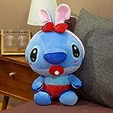 hhjxptst Soft Toys - Stitch Angel Verwandelte Sich In Eine Bee Hug Schnullerpuppe 20CM Roter Schnuller