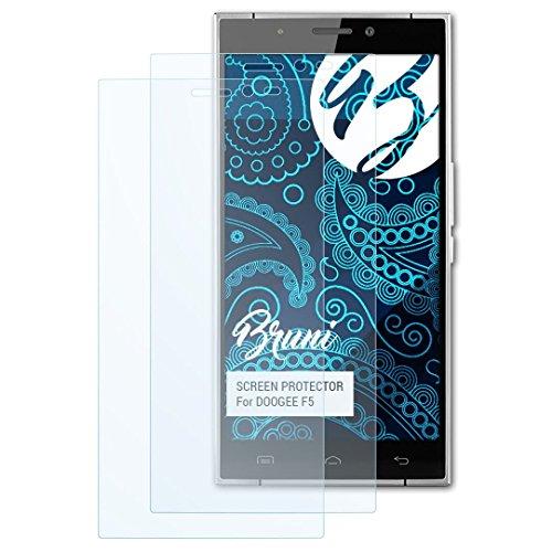 Bruni Schutzfolie kompatibel mit DOOGEE F5 Folie, glasklare Bildschirmschutzfolie (2X)