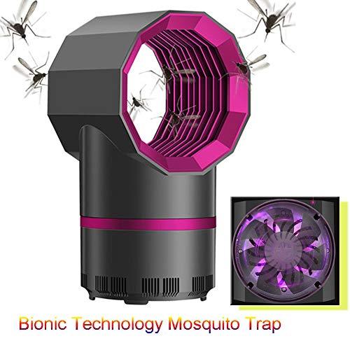 Dysel Insektenvernichter Elektrisch Moskito Led Lampe 2-in-1 Mückenlampe, UV-Licht Insektenfalle LED Moskito USB Catcher Mückenschutz Killer Insekten Mörder für Ktiche Außen