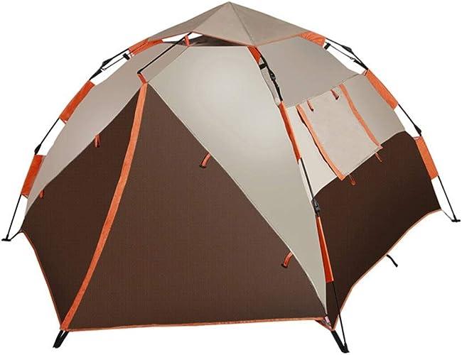 OHGQY Tente De Camping Adaptée Aux Familles 2 à 3 Personnes, Tente Sac à Dos Ultra-légère pour Le Camping en Plein Air, Tente à Impériale Imperméable Tentes extérieures