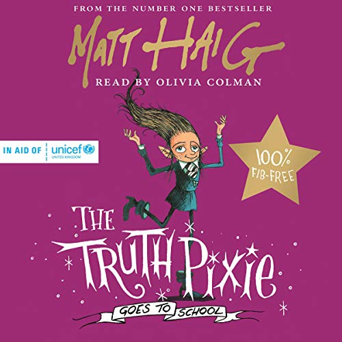 The Truth Pixie Goes to School audiobook cover art