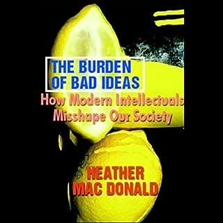 The Burden of Bad Ideas audiobook cover art