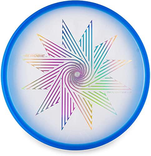 Aerobie Skylighter Lighted Flying Disc (Blue)