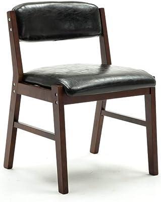 台所純木のダイニングチェアの肘掛け椅子のレトロなホテルのラウンジチェア、Puの革装飾されたゴム製木およびクルミフレーム,DarkGreen,Walnutcolor