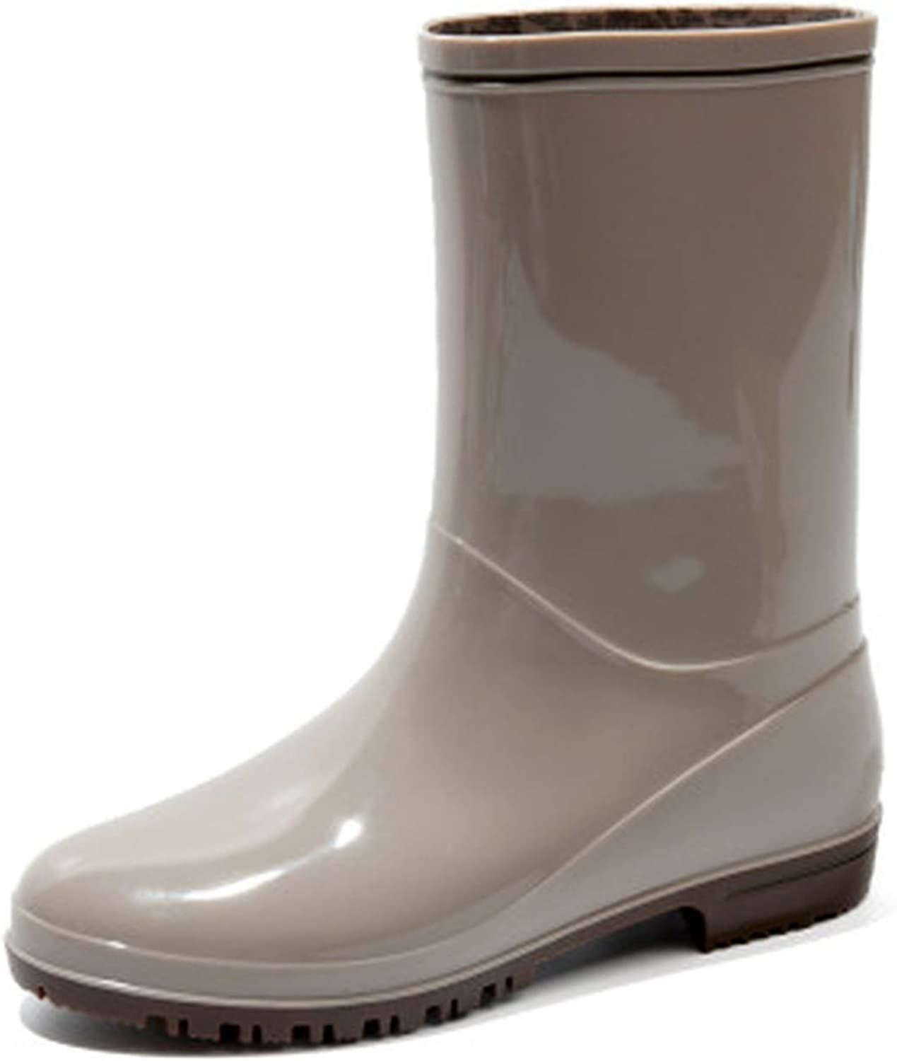 Hiviay Fashion New Women Rain Boot Waterproof Rain Ankle Boots Female Water Lady shoes Women Ankle Boots