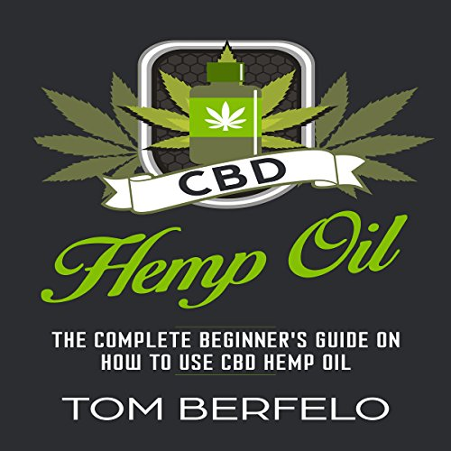 CBD Hemp Oil audiobook cover art