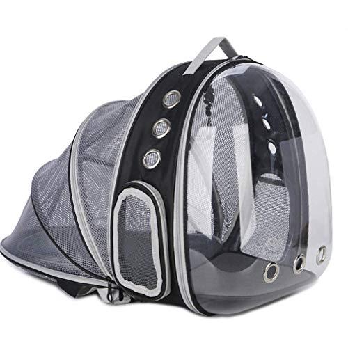 Cat Bag Pet Space Pack Katzenrucksack aus transparenter tragbarer Kabinenkiste Dog Brust Schulter...