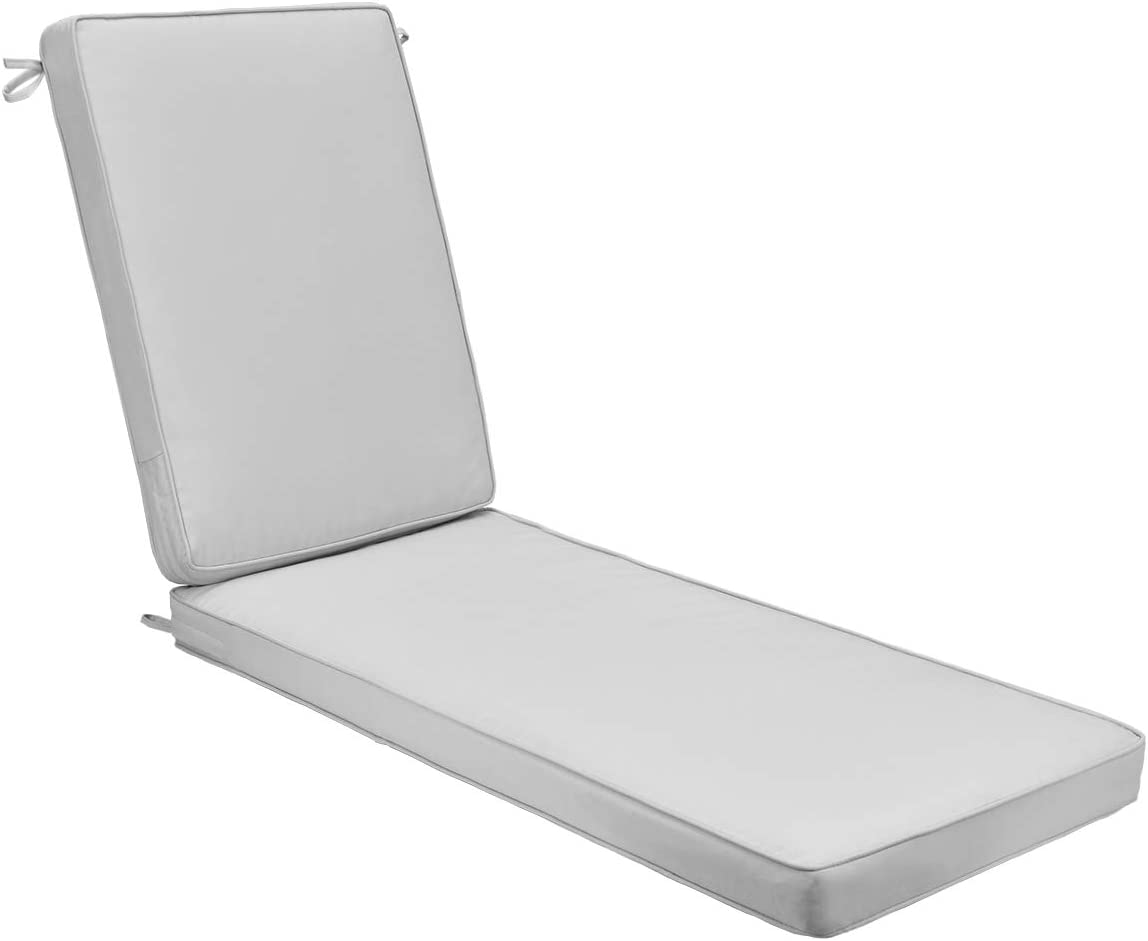AAAAAcessories Outdoor Chaise Max 83% OFF Lounge Cushion 80 x 26 L Raleigh Mall 3 Inch