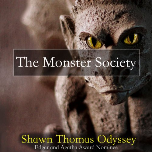 The Monster Society audiobook cover art