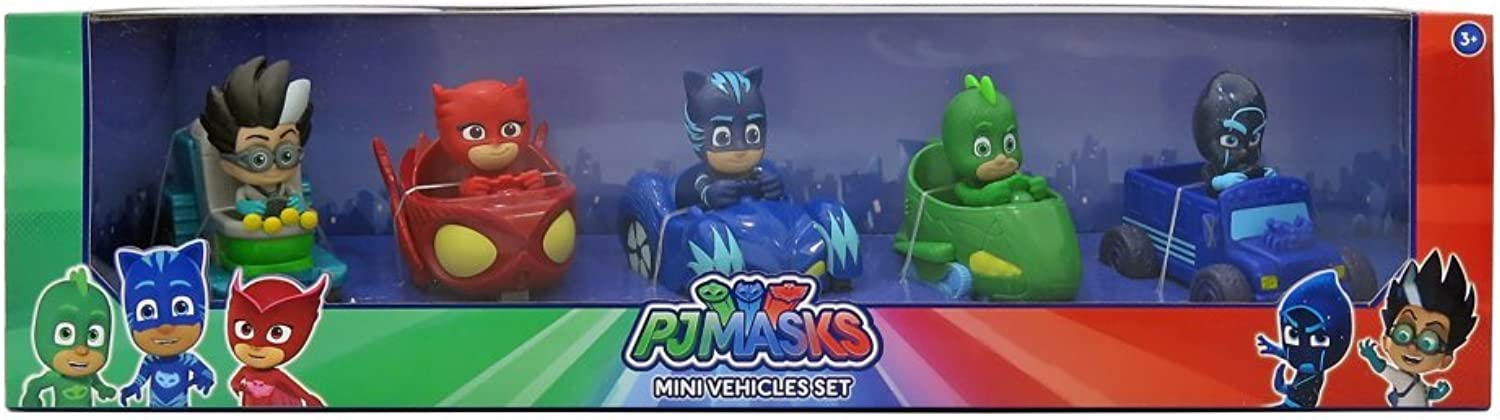 PJ Mask 5 Mini Vehicles Set