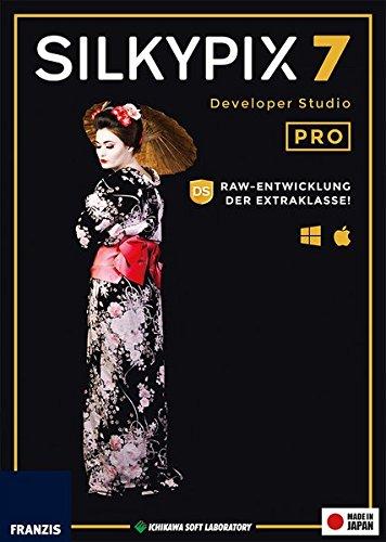 SILKYPIX Developer Studio Pro 7|Professional 7|Für bis zu 3 Geräte|-|Für Windows PC und Mac OS X|Disc|Disc