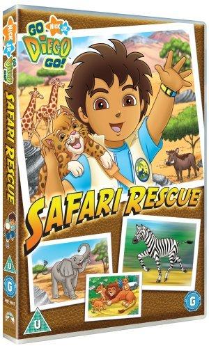 Go Diego Go: Safari Rescue [Edizione: Regno Unito] [Edizione: Regno Unito]