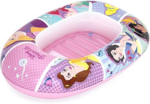 Bestway 91044 - Barca Hinchable Infantil Disney Princess 102x69 cm