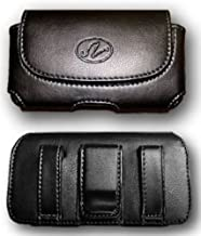 FYL Leather Case Pouch Holster for Verizon HTC One Remix / One mini 2, Desire 612