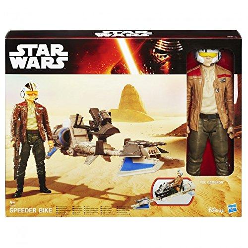 Resistance Pilot Star Wars: Episodio VIII Poe Dameron Los /últimos Jedi Force Link 9.5cm Figura de acci/ón