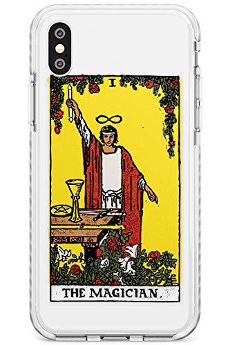Case Warehouse Die Magier-Tarot-Karte In Farbe Impact Handykette Hülle für iPhone XS MAX | Schutz Dual Layer Bumper TPU Silikon Hülle Muster Printed | Psychic Astrologie Vermögen Okkulte Magie