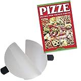 SPICE - Forno Pizza DIAVOLA e CALIENTE pietra refrattaria 400 gradi Resistenza circolare (Set 2 Palette Inox + Ric Pizze)