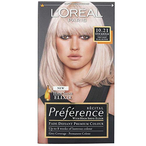 Recital Preference by L'Oreal Paris 10.21 Stockholm very Light Pearl Blonde by L'Oreal Paris
