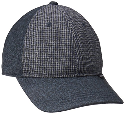 Ben Sherman Men's Wool Baseball Cap, Staples Navy, L-XL