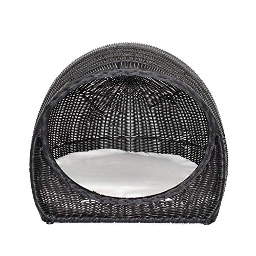 Christopher Knight Home Hayes Outdoor Wicker Igloo Pet Bed