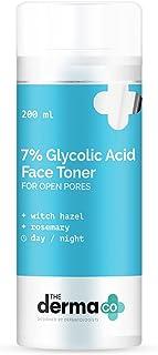 The Derma Co 7% Glycolic Acid Face Toner For Open Pores - 200 ml(dermaco)
