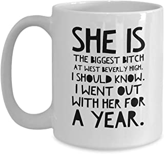 Real Housewives Beverly Hills Coffee Mug 15 oz Ceramic Novelty Tea Cup | #RHOBH Kylie Richards Lisa Rinna | Unique Quote Gift Idea for Fan Actor