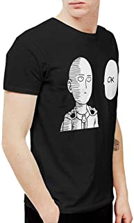 Men's One Punch Man - Saitama OK Fashion T-Shirt