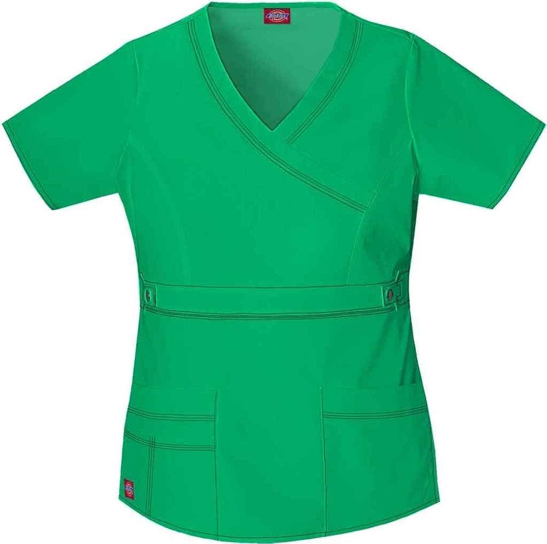 Dickies Women's Gen Flex Mock Wrap Shirt