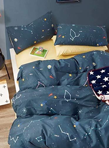 Favorite Gifts, LLC Kinder-Bettwäsche-Set 3-teilig Full/Queen blau