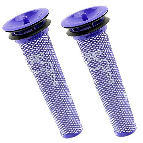 Ytt Animal Aspirateur pour Dyson Dc58 DC59 Dc61 DC62 V6 V8 Stick filtre pré-moteur lavable (lot de 2)