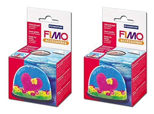 Staedtler FIMO Schneekugel (2, Schneekugel klein)