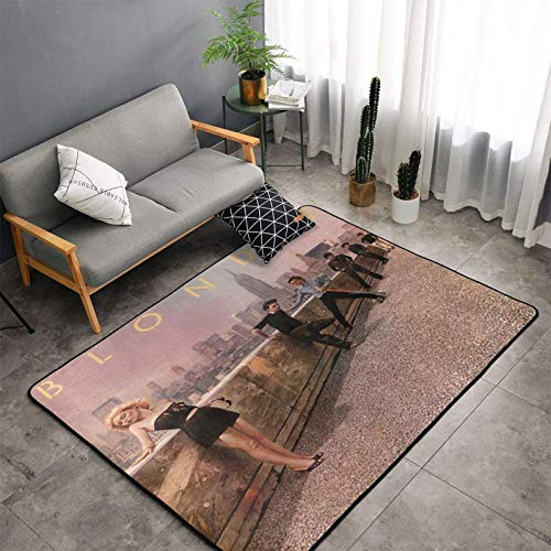 Blondie The Tide is High Modern Luxury Indoor Plush Rug for Living Room Room Furry Carpet, Non-Slip Rug Bedroom Rugs 60 X 39 Inches