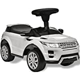 vidaXL Coche de Juguete Blanco con música, Modelo Land Rover 348 Juego niño...