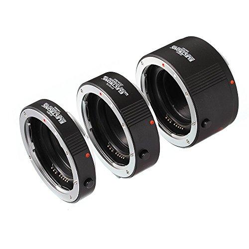 Fotga Macro AF Auto Focus - Anillo de Tubo de extensión automático de 13 mm + 20 mm + 36 mm para Lentes Kenko Canon EF EF-S.