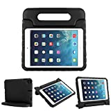 CAM-ULATA Kids Case for Apple iPad Mini 5 2019 Mini 4 2015 Shockproof Light Weight Durable Protective Convertible Handle Stand Cover Case for Apple Mini 5th Generation 2019 7.9-inch,Black