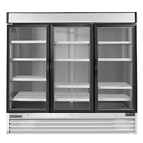 Maxx Cold MXM3-72F X-Series Triple 3 Door Upright Reach In Freezer