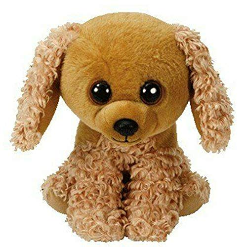 NIANMEI Ty Beanie Boos Sadie The Cocker Spaniel Perfect Dog Big Eyes Stuffed Animals 12cm Cute Plush Ball Baby Kids Toys-15cm -  wkjn-5461