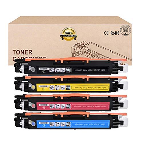 Compatibel Toner Cartridges alternatief voor HP 130A CF350A CF351A CF352A CF353A Toner Cartridge voor HP COLOR LASERJET PRO MFP M176N M177FW Toner 4Colors