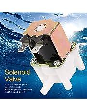 DC 12V Válvula Solenoide, Plástico Electroválvula de agua, Normalmente Cerrada, Anticorrosión, Resistente a Humedad, para Máquinas de Agua Pura, Dispensador de Agua, Lavadora