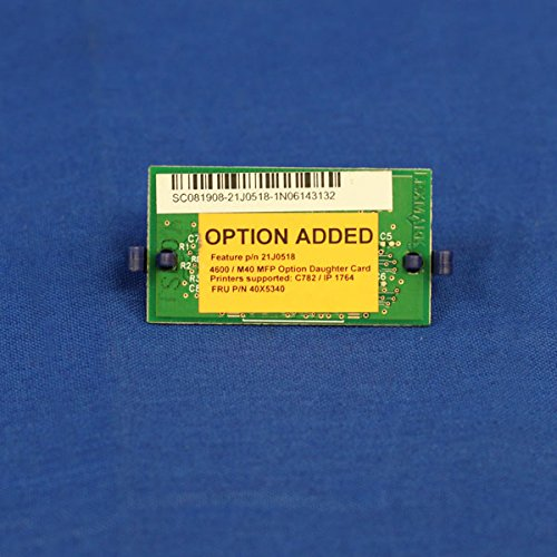 Best Review Of 40X2173 40X5340 – Genuine 4600 C782E MFP Scanner Firmware Card Assem Item Inc