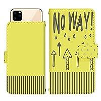 iPhone 12 スライド式 手帳型 スマホケース スマホカバー dslide218(C) NO WAY とんでもない まさか ありえない アイフォントゥエルブ アイフォン12 iphone12 スマートフォン スマートホン 携帯 ケース アイフォントゥエルブ アイフォン12 iphone12 手帳 ダイアリー フリップ スマフォ カバー