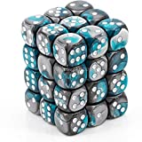 Officially Licensed All dice read from the top for easy comprehension Uses underscoring to differentiate 6 and 9 Sharp edges for easy shape recognition